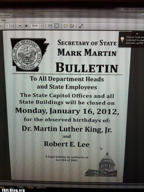 Hall of Fame Martin Luther King MLK thats-racist the south wtf - 5701280256