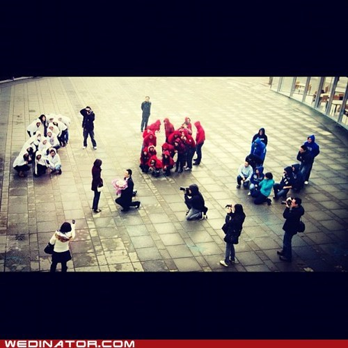 flashmob,funny wedding photos,proposal