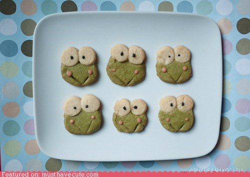cookies epicute face frog keroppi smile - 5702033664