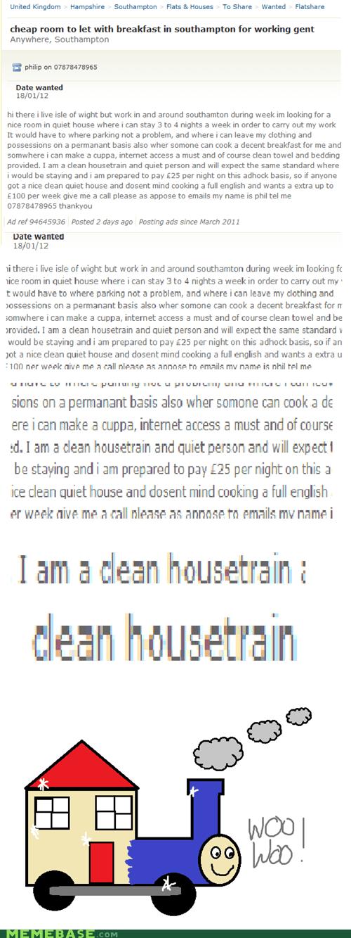 clean house Text Stuffs train words - 5702187520