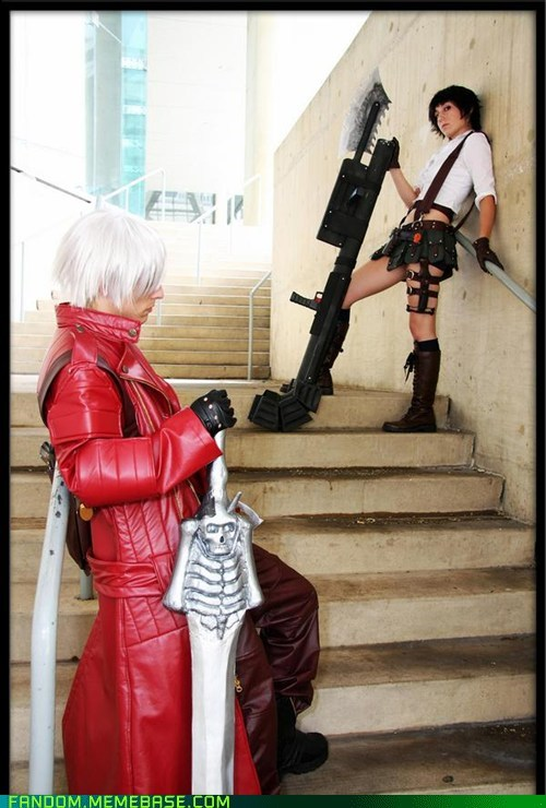 cosplay dante devil may cry devil may cry 4 lady - 5702436352