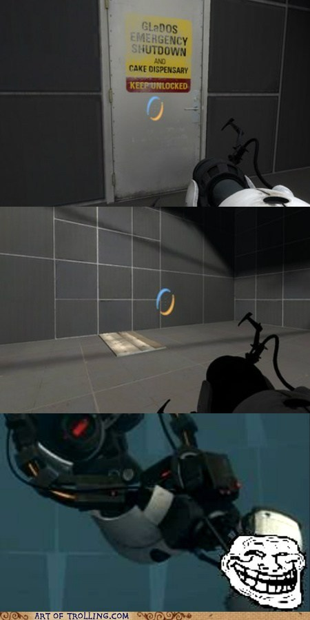cake,door,gladOS,video games
