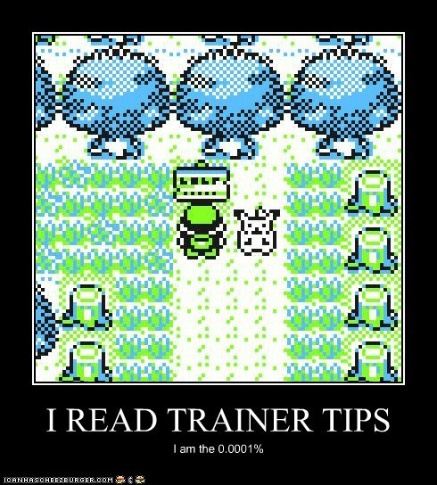 I READ TRAINER TIPS