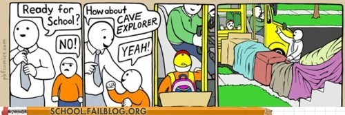 comic gotcha g rated perry bible fellowship school bus School of FAIL trick trololol - 5702531584