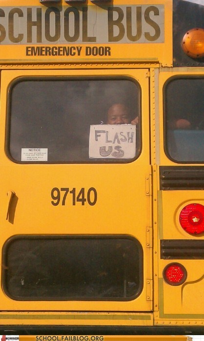 children flash future school bus students - 5702535168