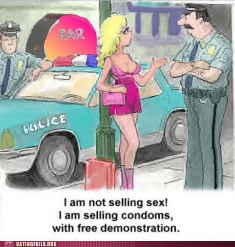 comic,condoms,floozy,harlot,lady of the night,public service,strumpet,tart