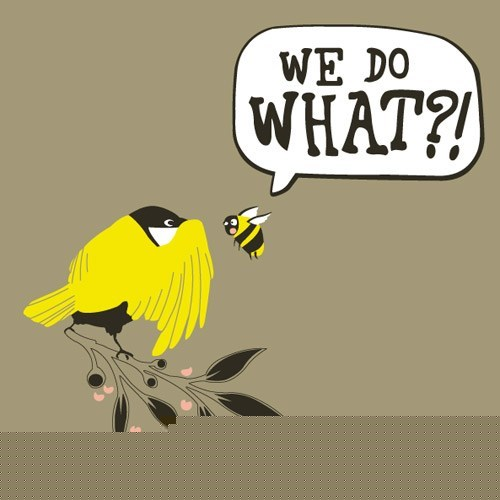 bees birds birds and the bees shocking truth wait what - 5702654976