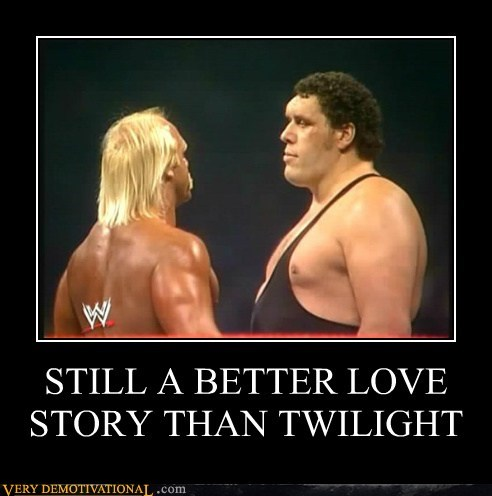 andre the giant,hilarious,Hulk Hogan,love story