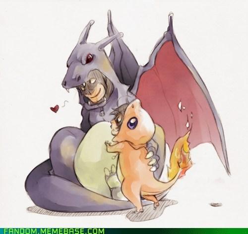 batman crossover DC Fan Art Pokémon - 5702823424