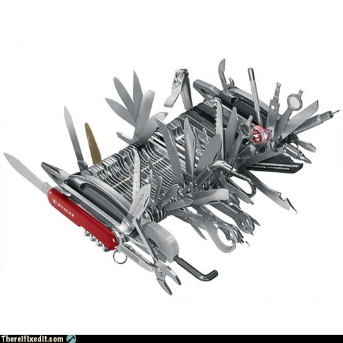 g rated Hall of Fame knife not a kludge overkill there I fixed it tool - 5702857472