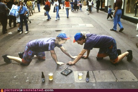 best of week chalk art mc escher wtf - 5703626240