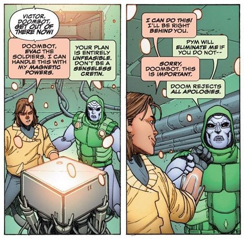 doombot list Straight off the Page doctor doom - 570373