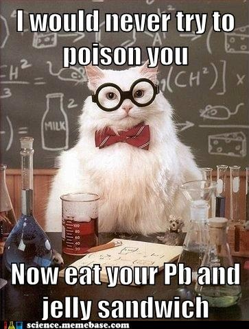 Chemistry chemistry cat lead - 5703750400