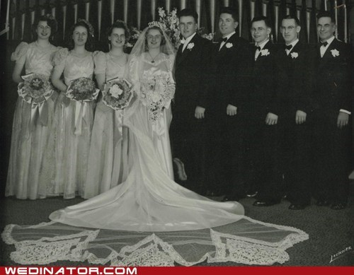 1940s funny wedding photos retro vintage - 5703916288