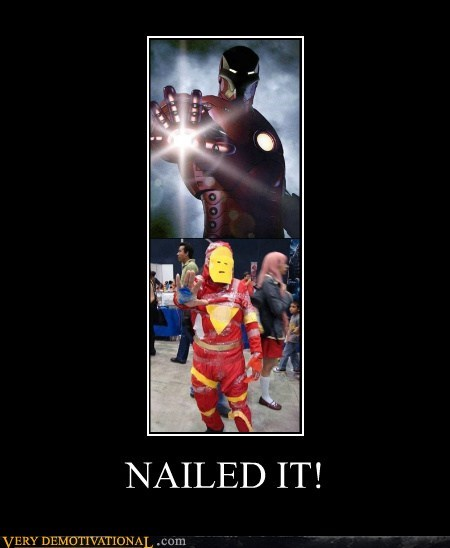 awesome costume iron man Pure Awesome very demotivational wtf - 5704314112