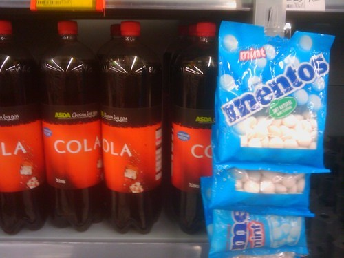 coke IRL mentos store - 5704674816