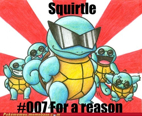 007 james bond Memes squirtle meme - 5705218048