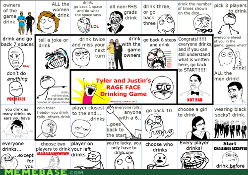 drinking,games,Rage Comics