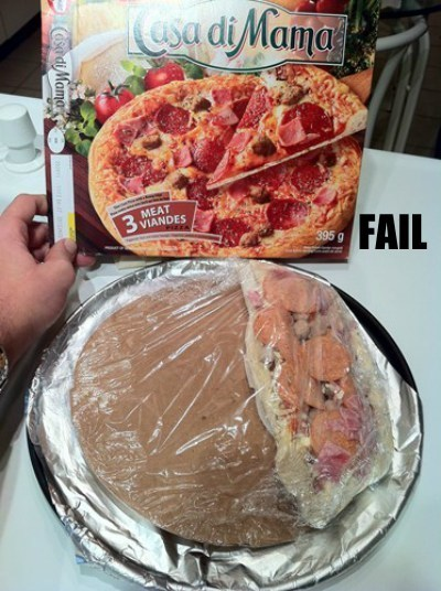 food pizza product fail wtf