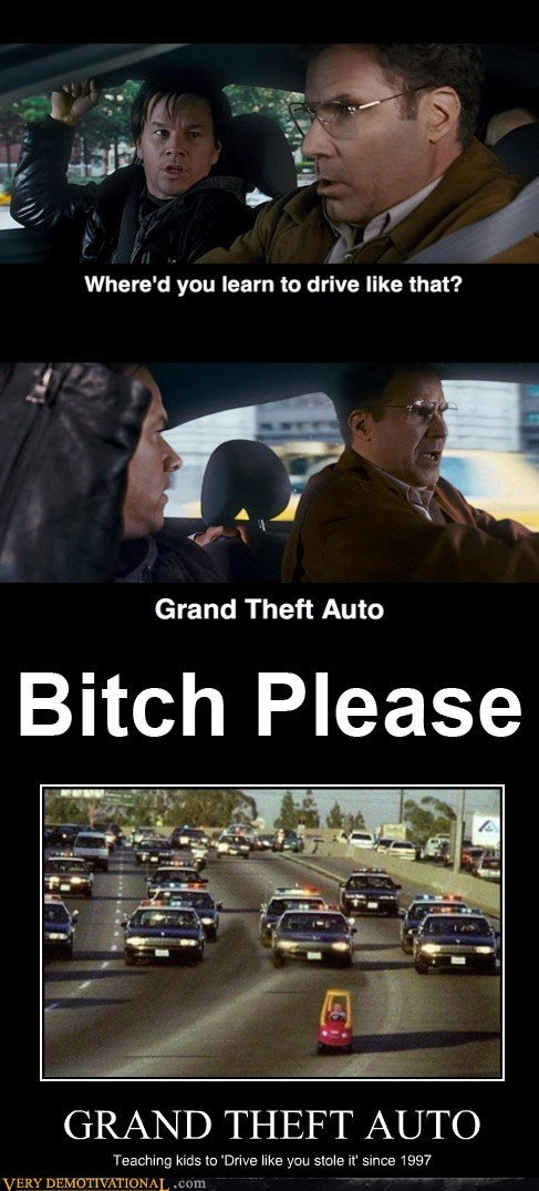 drive it like you stole i drive it like you stole it Grand Theft Auto hilarious video games - 5706283264