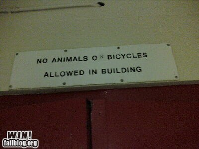 animals bicycles graffiti hacked irl scribble sign warning - 5706480640