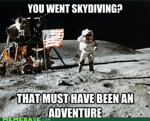 astronaut,Death,Memes,skydiving