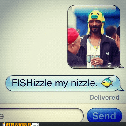 fish fishizzle fo shizzle pun snoop snoop dogg - 5706535424