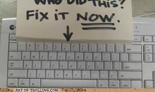 IRL keyboard u mad - 5706661632
