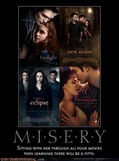 hilarious horrible misery twilight