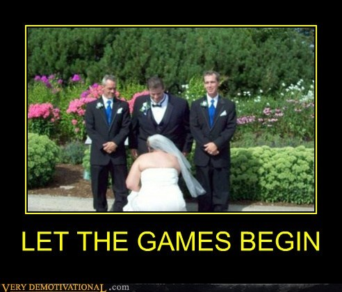 begin games hilarious sexy times wedding - 5706962432