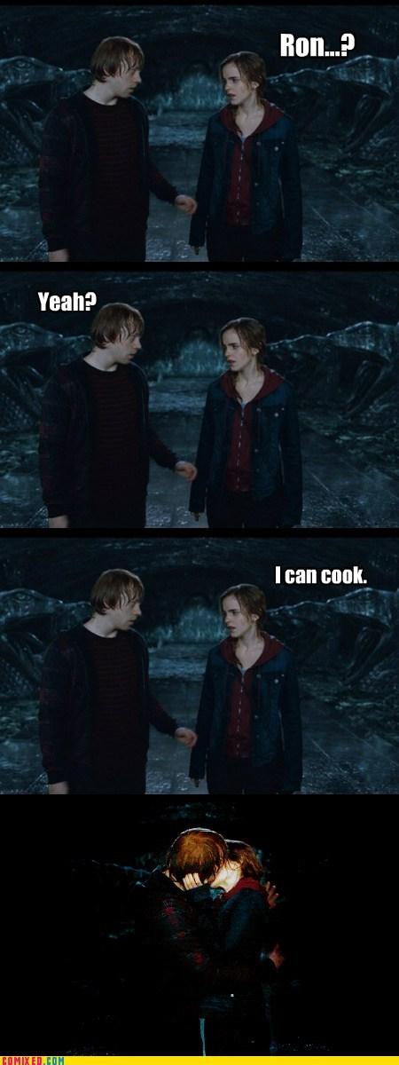 Harry Potter hermione movies Ron Weasley women - 5707064576