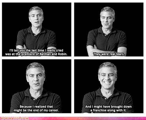 celeb funny george clooney Hall of Fame - 5707181568