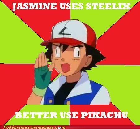 ash logic meme Memes pikachu steelix - 5707239936