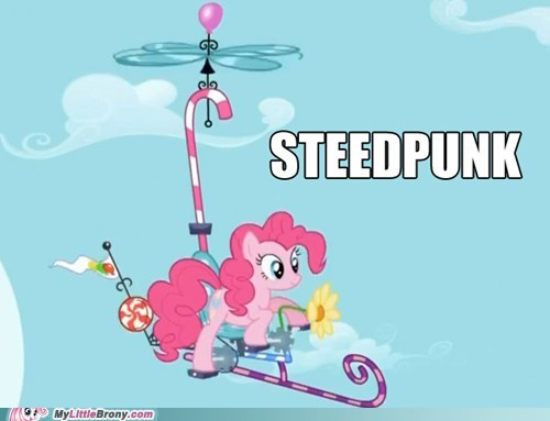 crossover pinkie pie Steampunk steedpunk