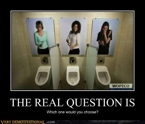 hilarious,ladies,no no tubes,tiny,urinal