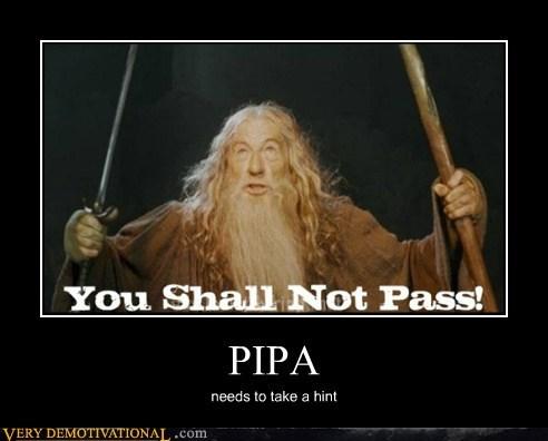 PIPA needs to take a hint