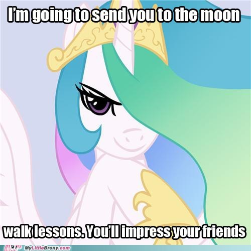 celestia good intentions celestia meme to the moon - 5708508672