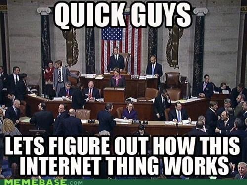 AOL blackout day Congress internet Memes - 5708786432
