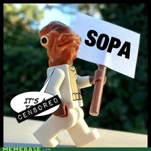 admiral ackbar blackout day SOPA star wars trap - 5708799232