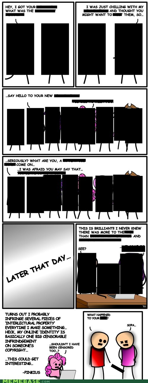 blackout day cyanide and happiness Memes SOPA