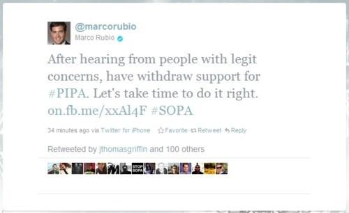 Marco Rubio,PIPA,SOPA