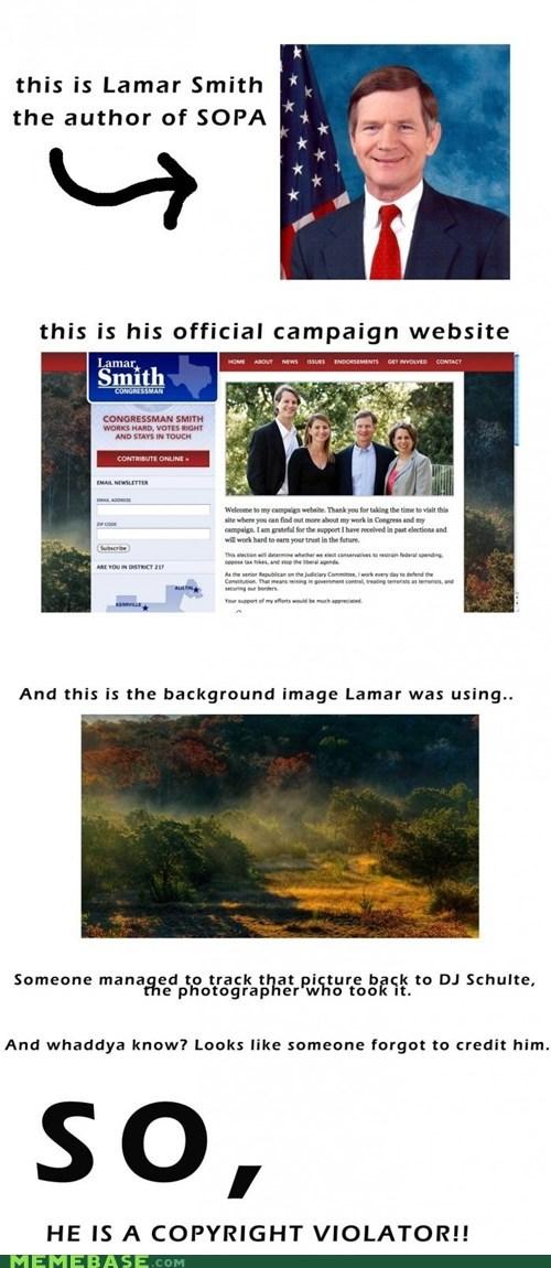 irony Lamar Smith Memes SOPA - 5709851392