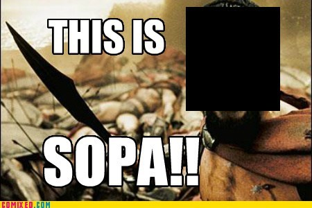 300 Memes SOPA sparta - 5709880064