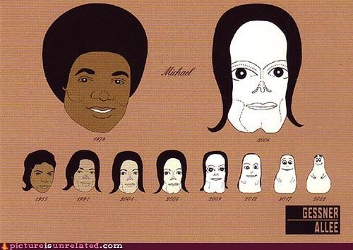 barbapapa cartoons michael jackson wtf - 5709901568