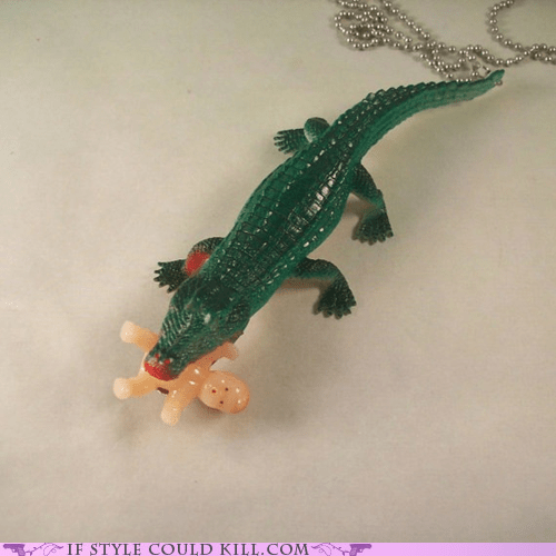 alligators Babies cool accessories crocodiles necklaces - 5710005504