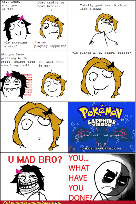 best of week Pokémon Rage Comics troll u mad - 5710007040