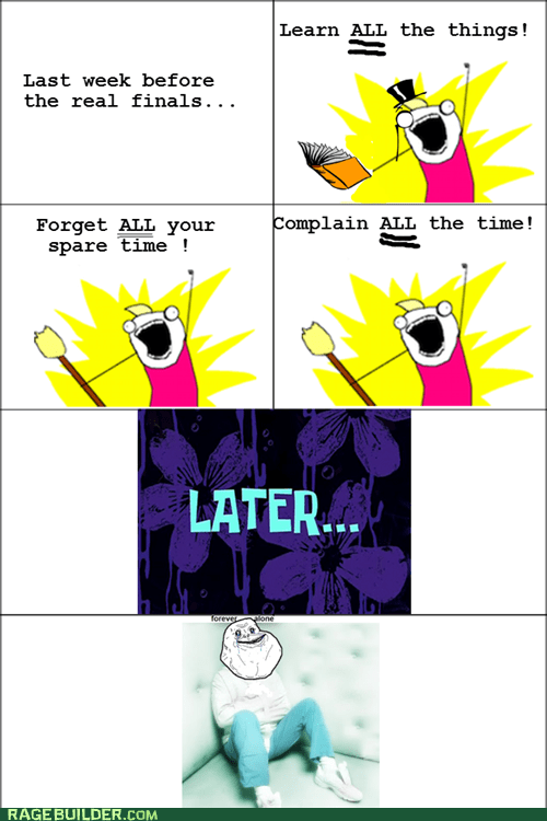 all the things forever alone Rage Comics truancy story - 5710135296