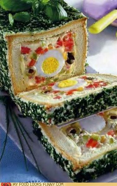 bread cheese egg herbs loaf log salad super bowl - 5710199040