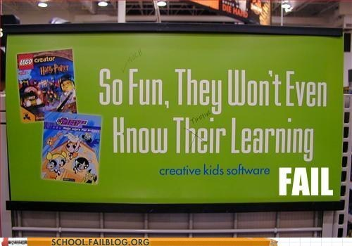 Ad billboard educational ftfy grammar learning software spelling