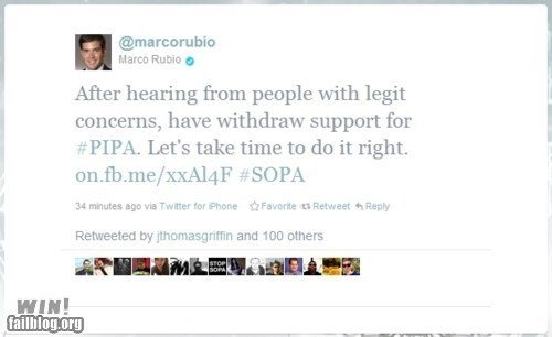 censorship Congress g rated internet politics SOPA tweet win - 5710511360